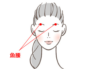 魚腰(ぎょよう)の場所を説明する図
