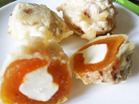 干し柿&クリームチーズの天ぷらの写真