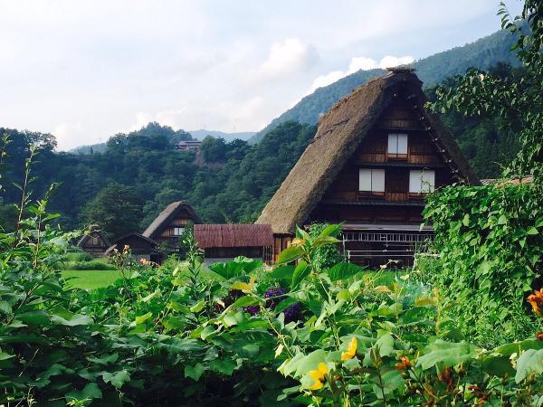 国指定重要文化財「和田家」の写真