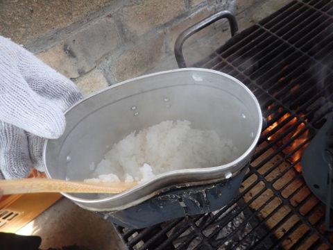 ご飯の炊き方~飯ごう~